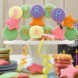 Happy Birthday Decorated Cookies