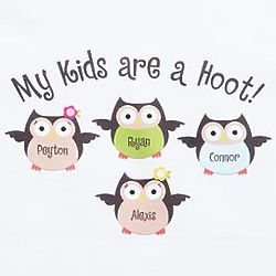 Personalized My Kids are a Hoot Sweatshirt