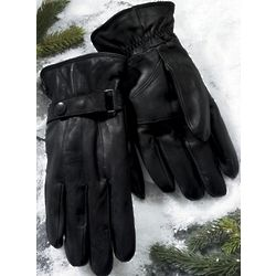 Men's Leather Thinsulate Gloves