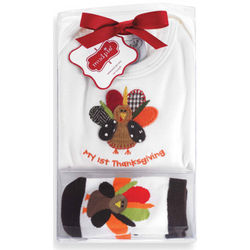 My First Thanksgiving 2-Piece Gift Set