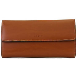 Toffee Leather Clutch Wallet