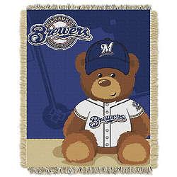 MLB Baby Woven Throw Blanket