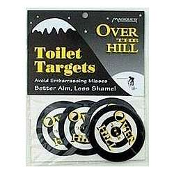 Over The Hill Toilet Targets