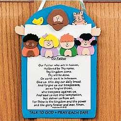 The Lord's Prayer Craft Kit