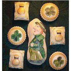 St. Patrick's Day Springerle Cookie Gift Tin