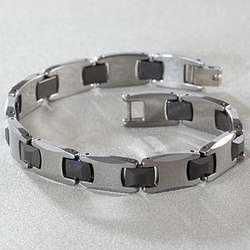 Tungsten & Ceramic Bracelet
