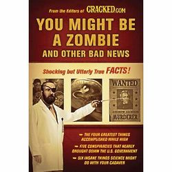 You Might Be a Zombie and Other Bad News Book