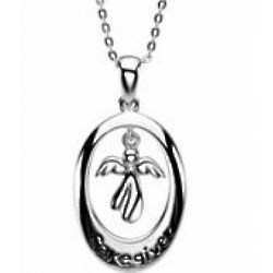 Caregiver Sterling Silver Necklace