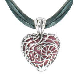 Summer Memories Interchangeable Heart Pendant Necklace