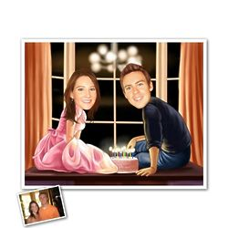 Sweet Sixteen Caricature from Photos