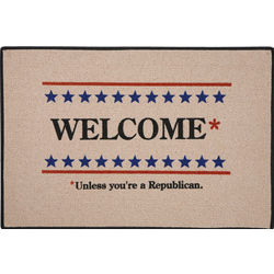 Democrat Political Party Welcome Mat
