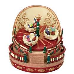 Mr. Christmas Miniature Carnival Wind Up Music Box