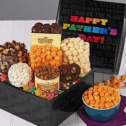 Say it in Color Father's Day Sweets and Treats Gift Box