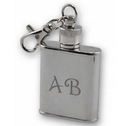 Stainless Steel Flask Key Chain