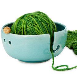 Hedgehog Stoneware Yarn Bowl