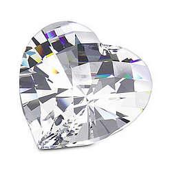 Swarovski Sparkling Heart Paperweight