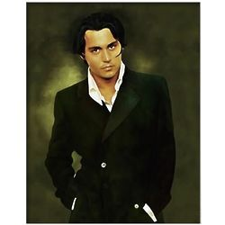 Johnny Depp Limited Edition Fine Art Print