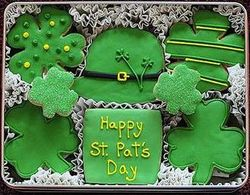 St. Patrick's Day Sugar Cookie Gift Tin