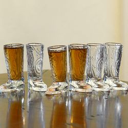 Cowboy Up Shot Glasses Set