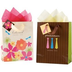 Wedding Party Themed Thank You Gift Bags