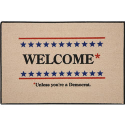 Republican Political Party Welcome Mat