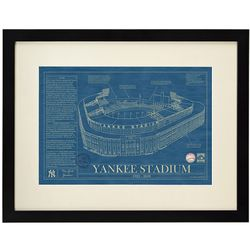 Ballpark Blueprint Wall Art