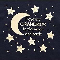 Personalized To the Moon and Back T-Shirt