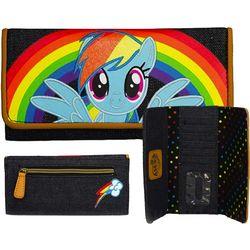 My Little Pony Rainbow Dash Denim Wallet