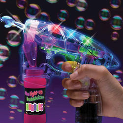 Light-Up Bubbleizer Toy
