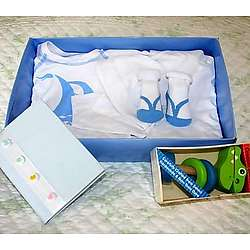 Baby Boy Sailing Gift Set
