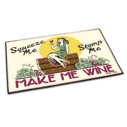 Make Me Wine Welcome Mat