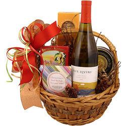 Chardonnay Classic Gift Basket