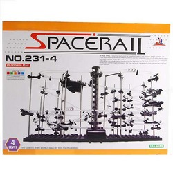 SpaceRail Rollercoaster with Powered Elevator Kit