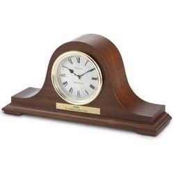 Bulova Mantel Mahogany Clock