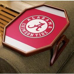 Wooden Clip-On Armchair Table with Collegiate Logo