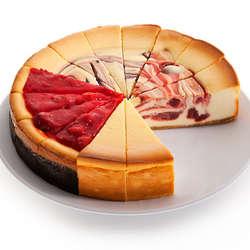 Fruit Cheesecake Variety
