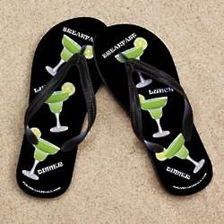 Black Margarita Beacher Sandals