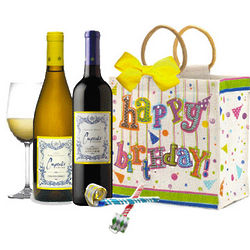 Cupcake Wine Birthday Tote
