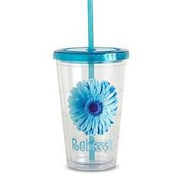 Personalized On the Go Flower Tumbler