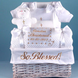 So Blessed Christening Baby Gift Basket