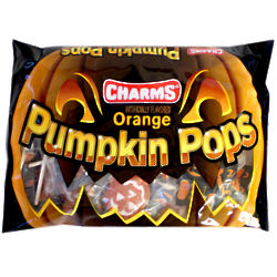 Orange Pumpkin Pops