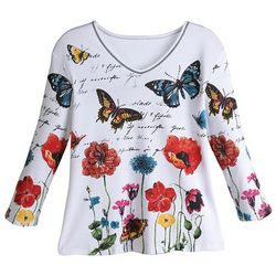 Joyful Butterfly Shirt