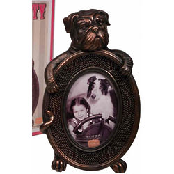 Vintage Dog Picture Frame