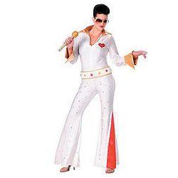 Women's Elvis Jumpsuit Costume