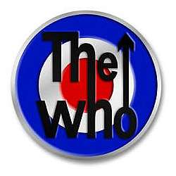The Who Target Belt Buckle