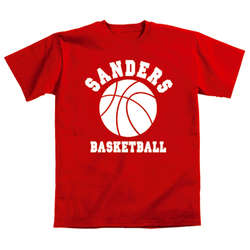 Personalized Sports Adult T-Shirt