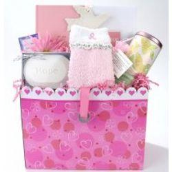 Heartful of Hope Breast Cancer Gift Basket