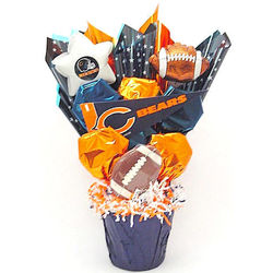 Chicago Bears Cookie Gift Bouquet