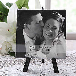 Our Special Day Personalized Canvas Art