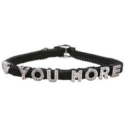 Love You More Dog Collar